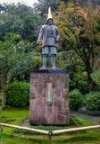 Monumento del héroe en Kanazawa, Japón Foto de archivo