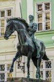 Monumento del húsar Imagenes de archivo