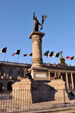 Monumento del Hidalgo di Miguel Fotografia Stock
