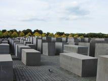 Monumento del holocausto - Berlín Imagen de archivo libre de regalías