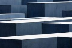 Monumento del holocausto de Berlín Foto de archivo libre de regalías