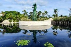 Monumento del holocausto de Miami Imagen de archivo libre de regalías
