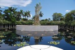 Monumento del holocausto de Miami Fotos de archivo libres de regalías