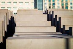 Monumento del holocausto en Berlín Foto de archivo libre de regalías