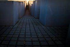 Monumento del holocausto en Berlín Imagen de archivo libre de regalías