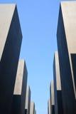 Monumento del holocausto en Berlín Foto de archivo