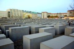 Monumento del holocausto, en Berlín Fotos de archivo