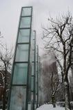 Monumento del holocausto en Boston, los E.E.U.U. el 11 de diciembre de 2016 Foto de archivo libre de regalías
