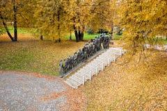 Monumento del holocausto en Minsk, Bielorrusia Foto de archivo