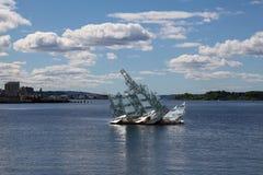 Monumento del iceberg en Oslo Foto de archivo libre de regalías