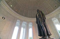 Monumento del Jefferson Immagine Stock Libera da Diritti