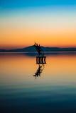Monumento del lago Immagine Stock Libera da Diritti