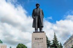 Monumento del Lenin immagini stock libere da diritti