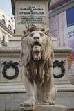 Monumento del leone ai martiri Fotografie Stock Libere da Diritti