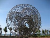 Monumento del memoriale dei tsunami Immagini Stock Libere da Diritti