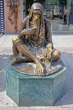 Monumento del mendicante Fotografie Stock Libere da Diritti