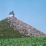 Monumento del montón de los leones - imagen explorada Imagen de archivo libre de regalías