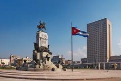 Monumento del monumento de Antonio Maceo Imagen de archivo libre de regalías