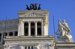 Monumento del monumento di Venezia Roma Italia di area Fotografia Stock