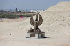 Monumento del nuevo canal de Suez Imagen de archivo