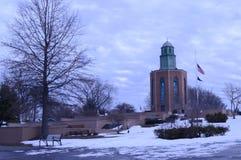 Monumento del parque de Eisenhower Imágenes de archivo libres de regalías