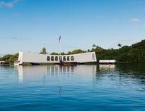 Monumento del Pearl Harbor Fotos de archivo