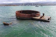 Monumento del Pearl Harbor Imagen de archivo