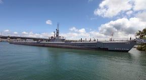 Monumento del Pearl Harbor Imagenes de archivo