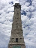 Monumento del pellegrino: Città della provincia, mA fotografia stock libera da diritti