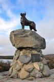 Monumento del perro de ovejas, Nueva Zelandia Fotos de archivo