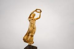Monumento del ricordo - Gelle Fra o signora dorata Fotografie Stock Libere da Diritti