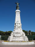 Monumento del Riviera francese in NIC Immagine Stock Libera da Diritti