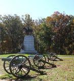 Monumento del Robert E Lee gettysburg Immagine Stock Libera da Diritti