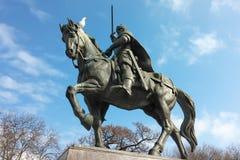 Monumento del ` s di re Kaloyan dello zar a Varna, Bulgaria Fotografia Stock Libera da Diritti