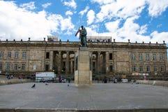 Monumento del Simon Bolivar Fotografia Stock
