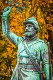 Monumento del soldato Fotografia Stock