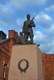 Monumento del soldato a Tallinn Fotografie Stock Libere da Diritti