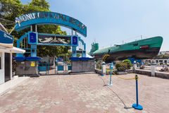 Monumento del submarino de Pasopati Foto de archivo