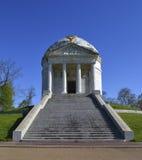 Monumento del templo de Illinois en Vicksburg Foto de archivo libre de regalías