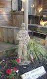 Monumento del veterano Foto de archivo libre de regalías