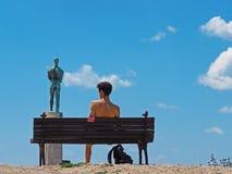Monumento del vincitore, Belgrado, Serbia Fotografia Stock Libera da Diritti