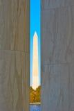 Monumento del Washington DC Imagen de archivo
