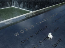 Monumento del World Trade Center Imagen de archivo libre de regalías