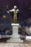 Monumento del zar búlgaro Samuel, Sofía imagenes de archivo