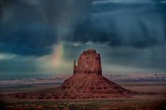 Monumento dell'arcobaleno fotografie stock