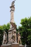 Monumento dell'Argentina Fotografia Stock Libera da Diritti