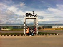 Monumento dell'immondizia Immagini Stock Libere da Diritti