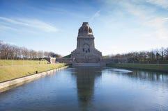 Monumento della battaglia delle nazioni Fotografie Stock Libere da Diritti