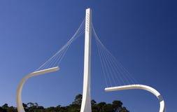 Monumento della circonvallazione (Rodoanel) a Sao Paulo fotografia stock