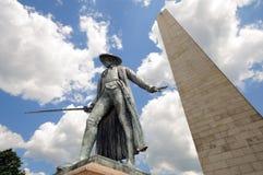 Monumento della collina di carbonile Fotografia Stock Libera da Diritti
